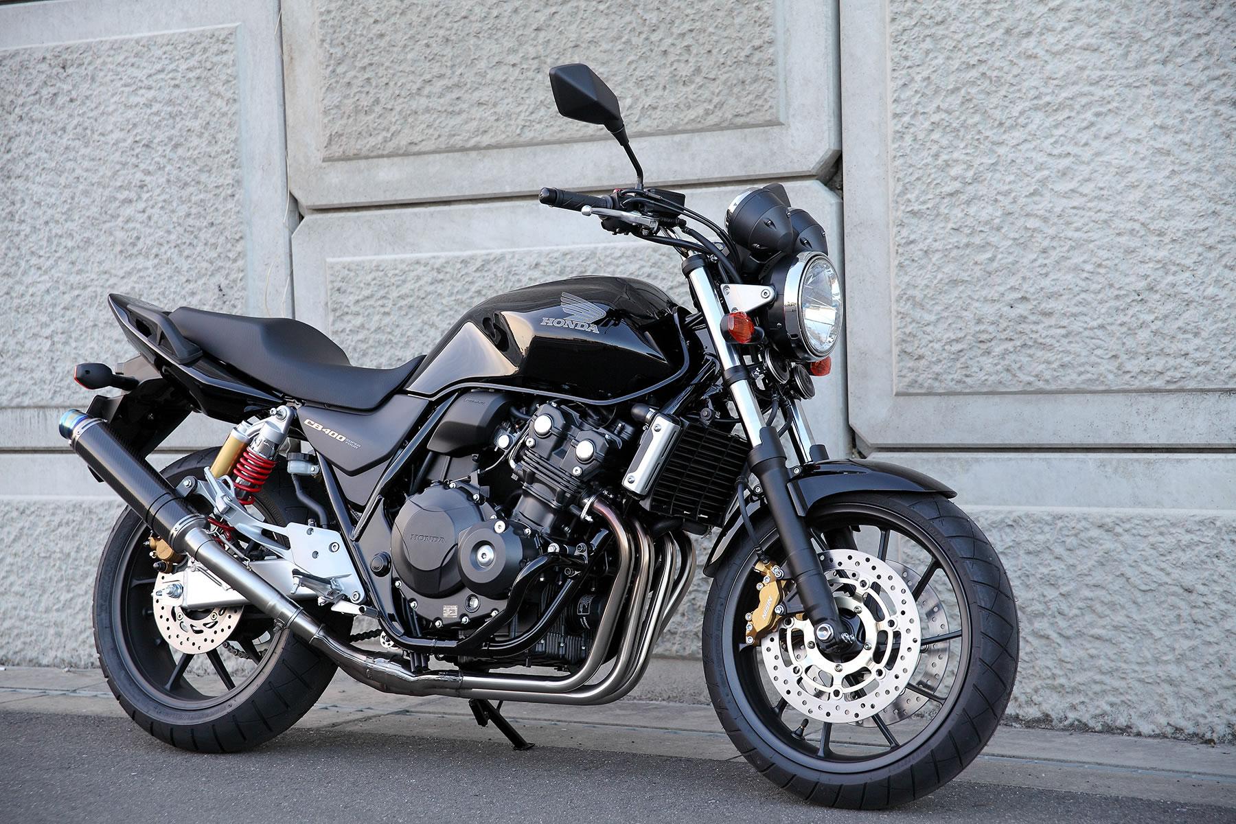 Обзор Honda CB 400 Super Four