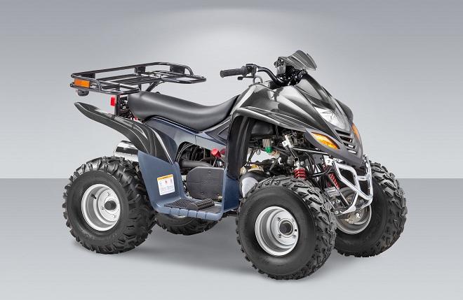 Квадроцикл со 110 кубовым двигателем