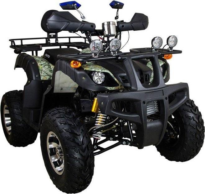Квадроциклы с 200 кубовым двигателем