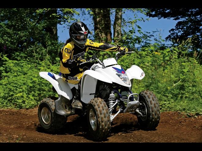 Квадроцикл с 250 кубовым двигателем