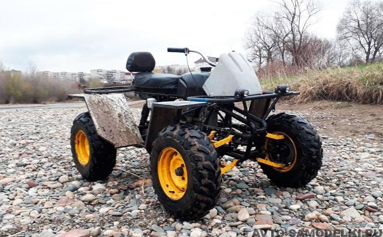 Квадроцикл из «Урала»: сборка и особенности