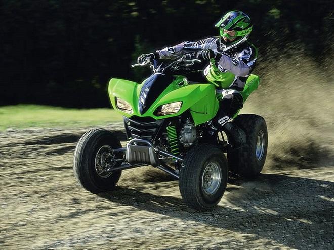 Квадроциклы Кавасаки: особенности и модели